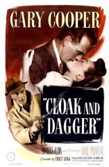 Cloak and Dagger 1946 DVD - Gary Cooper / Robert Alda